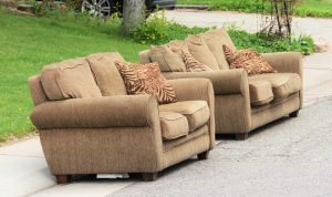 Couches on the Roadside